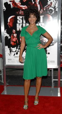 LisaRaye at the premiere of