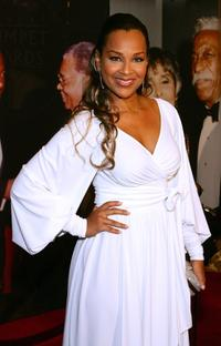 LisaRaye at the 15th annual Trumpet Awards.