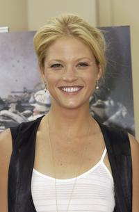 Nicki Lynn Aycox at the screening of