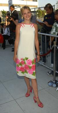 Nicki Lynn Aycox at the premiere of