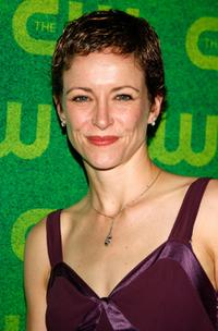 Leslie Hope at the CW Network Summer TCA Party.