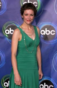 Leslie Hope at the ABC TCA party.