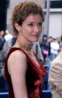 Leslie Hope at the 2003-2004 ABC Upfront.