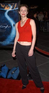 Leslie Hope at the premiere of