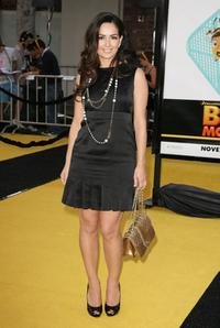 Ana de la Reguera at the premiere of