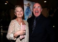 Bob Hoskins and Judi Dench at the Los Angeles premiere of
