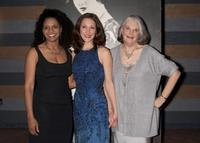 Audra McDonald, Kaitlin Hopkins and Lois Smith at the 100th Anniversary of the birth of Stella Adler and to benefit the Stella Adler School of Acting.