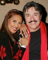 Telma Hopkins and Tony Orlando at the 2005 Hollywood Christmas Parade.