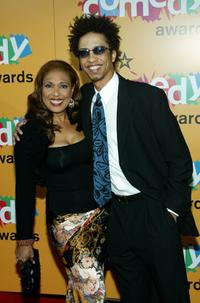 Telma Hopkins and JD at the 2005 BET Comedy Icon Awards.