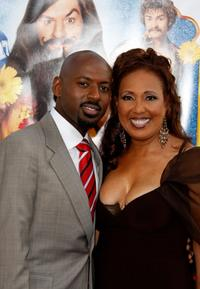Romany Malco and Telma Hopkins at the premiere of