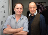 Robert Glenister and David Horovitch at the post-show party of