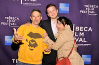 Adam Horovitz, director Matt Wolf and musician Kathleen Hanna at the World premiere of