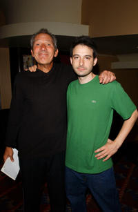Adam Horovitz and Guest at the preview screening of