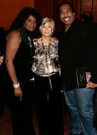 Anna Maria Horsford, Cloris Leachman and Leslie David Baker at the celebration for Cloris Leachman's 60 years in show business.
