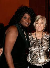 Anna Maria Horsford and Cloris Leachman at the celebration for Cloris Leachman's 60 years in show business.