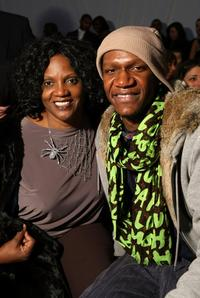 Anna Maria Horsford and Alexander Allen at the Kati Stern/Venexiana Fall 2009 fashion show during the Mercedes-Benz Fashion Week.