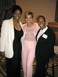 Anna Maria Horsford, Rolonda Watts and Lola Blank at the Paramount's Power Breakfast with Sherry Lansing.