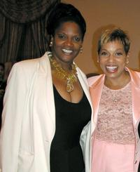 Anna Maria Horsford and Rolonda Watts at the Paramount's Power Breakfast with Sherry Lansing.