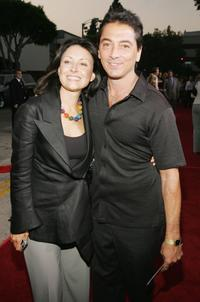 Scott Baio and guest at the premiere of
