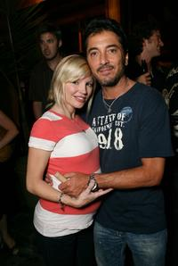 Scott Baio and his girlfriend Rene Sloan at the VH1 Back to School Party.