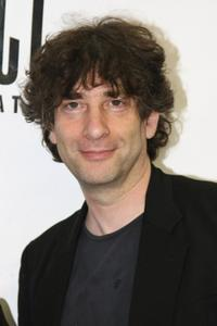 Neil Gaiman at the world premiere of