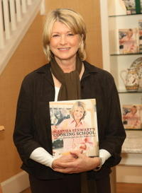 Martha Stewart at the signing of her new cook book