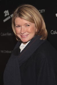 Martha Stewart at the screening of
