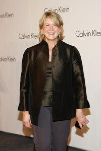 Martha Stewart at the Calvin Klein 40th Anniversary during the Mercedes-Benz Fashion Week.
