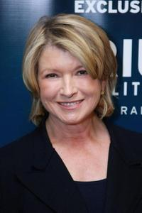 Martha Stewart at the show