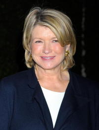 Martha Stewart at the Louis XIII Black Pearl's book party for Matthew Rolston's