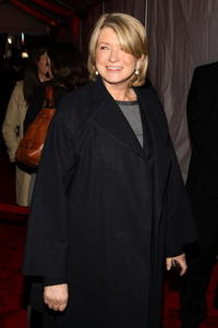 Martha Stewart at the Macy's 150th Birthday Celebration.