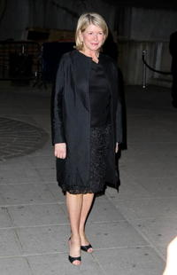Martha Stewart at the Vanity Fair party during the 2008 Tribeca Film Festival.