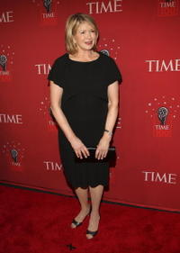 Martha Stewart at the TIME's 100 Most Influential People Gala.