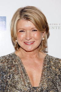Martha Stewart at the 2008 Martha Stewart Center for Living Gala.
