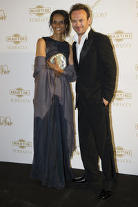 Karine Silla and Vincent Perez at the photocall of