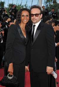 Karine Silla and Vincent Perez at the France premiere of