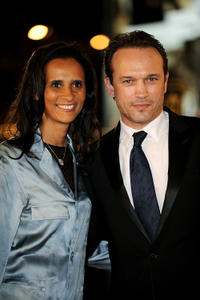 Karine Silla and Vincent Perez at the 10th Marrakech International Film Festival in Marrakech.