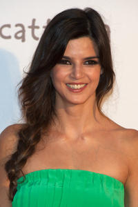 Clara Lago at the Spain premiere of