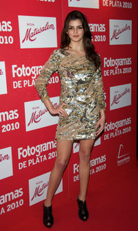 Clara Lago at the Fotogramas Awards 2010 in Spain.
