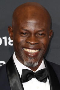 Djimon Hounsou at the 2018 Pirelli Calendar Lunch Gala in New York City.
