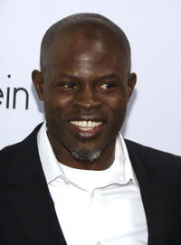 Djimon Hounsou at the 25th Anniversary Party of Calvin Klein Underwear.