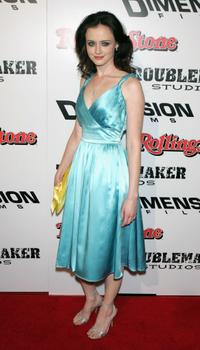 Alexis Bledel at the premiere of