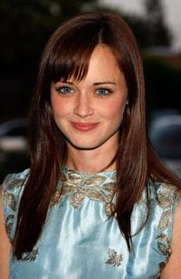 Alexis Bledel at the CW Network Summer TCA party.