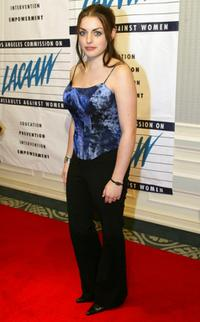 Nora-Jane Noone at the 32nd annual Los Angeles Commission on Assaults Against Women (LACAAW) Humanitarian Awards.