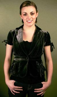Nora-Jane Noone at the Getty Images Portrait Studio during the 2006 Sundance Film Festival.