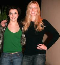 Nora-Jane Noone and Shauna MacDonald at the premiere of