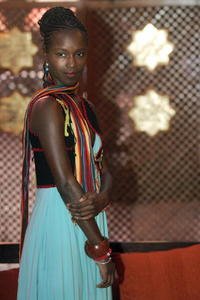 Fatou N'Diaye at the Marrakesh International Film Festival.