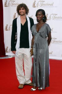Nicolas Herman and Fatou N'Diaye at the Monte Carlo Television Festival 2007.