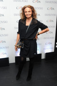 Diane Von Furstenberg at the CFDA 2013 Awards Nomination event.