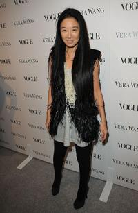 Vera Wang at the Vera Wang Store Launch.
